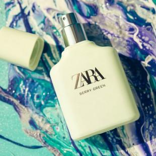 ZARA - BERRY GREEN
