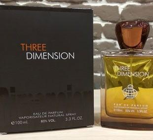Three Dimension مشابه بو ادوپرفیوم تق هرمس
