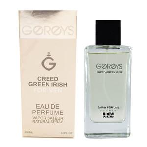ادو پرفیوم مردانه گریس مدل CREED GREEN IRISH حجم 100 میلی لیتر