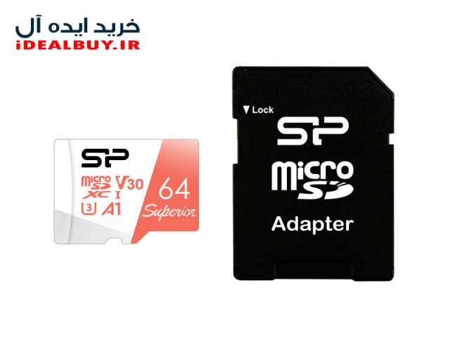 کارت حافظه Silicon Power Color Superior UHS-3U1 Class 10 85MBpsmicroSDHC  64GB