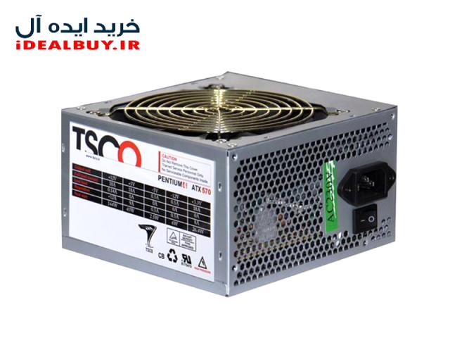 منبع تغذیه کامپیوتر  TSCO TP 570W