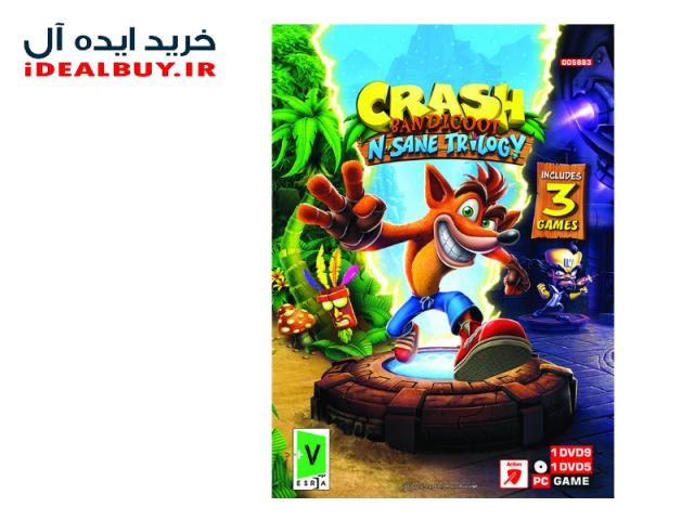 بازی گردو Crash Bandicoot N. Sane Trilogy