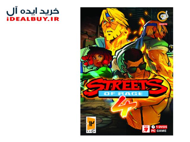 بازی گردو Streets Of Rage 4