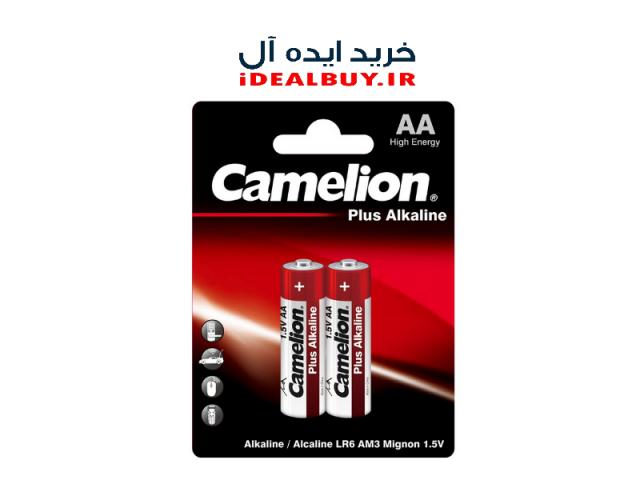 باتری قلم Camelion AA Alkaline Plus Batteries 2 Pack