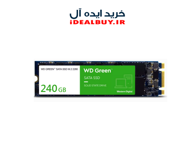 اس اس دی Western Digital Green  Internal SSD M.2 Drive 240GB
