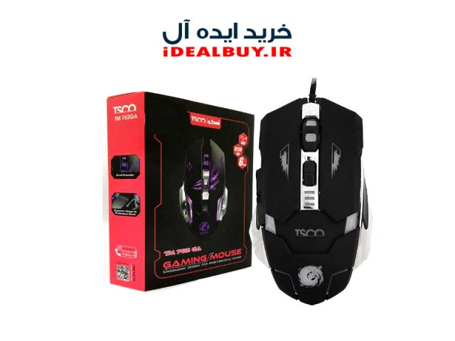 ماوس TSCO TM 762  GAMMING Mouse