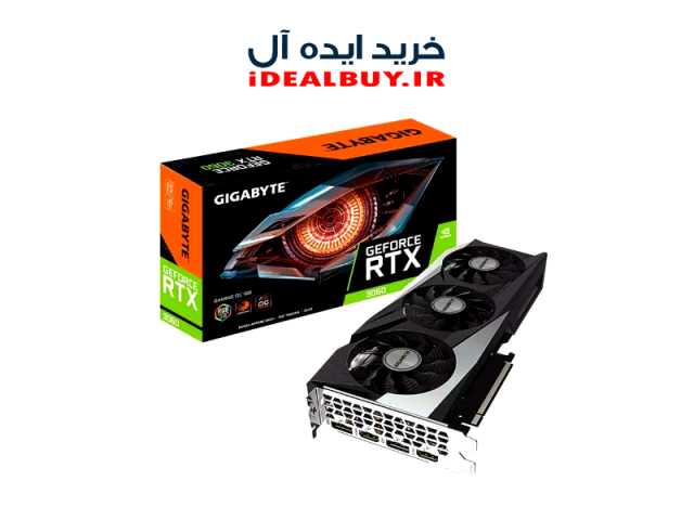 کارت گرافیک  Gigabyte GeForce RTX 3060 GAMING OC 12G GDDR6
