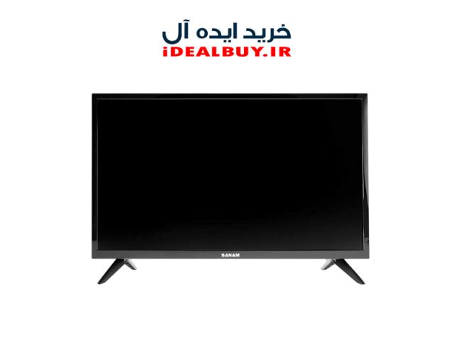 مانیتور / تلویزیون  SANAM SLE-24M10 LED TV 24 Inch