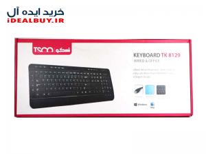 کیبورد تسکو TK 8018 با حروف فارسی
