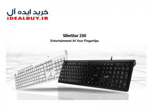 کیبورد جنیوس SlimStar 230 همراه با حروف فارسی