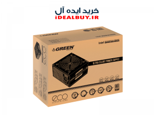 منبع تغذیه کامپیوتر گرین  GREEN GP400A-ECO Rev3.1