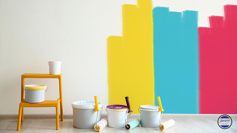 انواع رنگهای ساختمانی