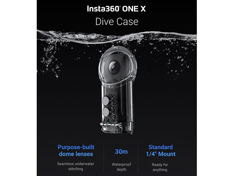 هوزینگ زد آب دوربین Insta360 ONE X