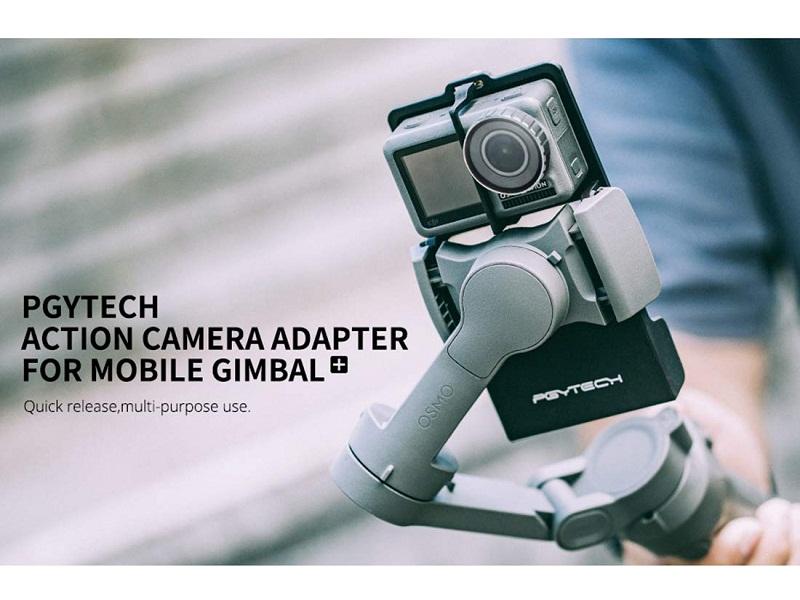آداپتور نصب دوربین گوپرو بر روی osmo mobile 3