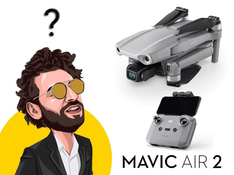 آموزش کار با کوادکوپتر Mavic Air 2