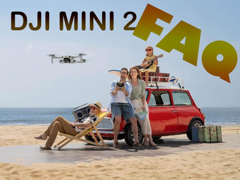 سوالات متداول درباره پهپاد DJI MINI 2