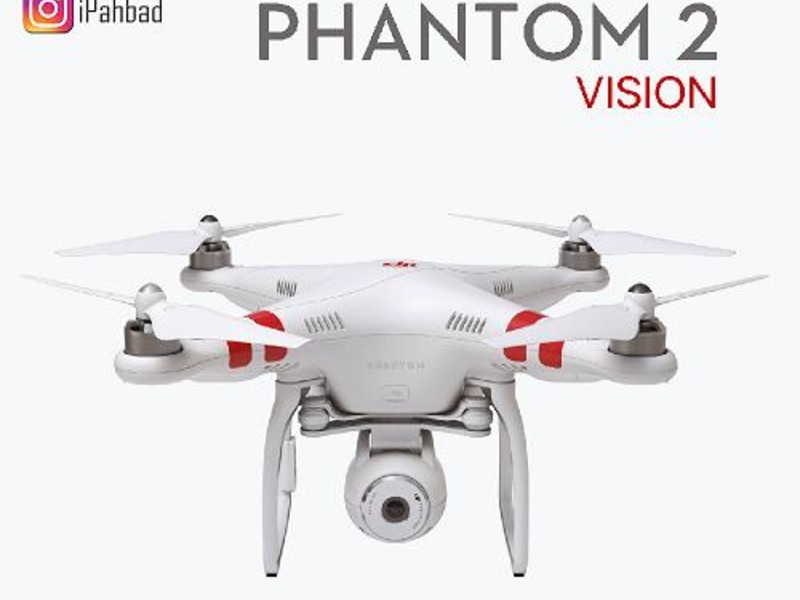 کواد کوپتر حرفه ای DJI Phantom 2 Vision