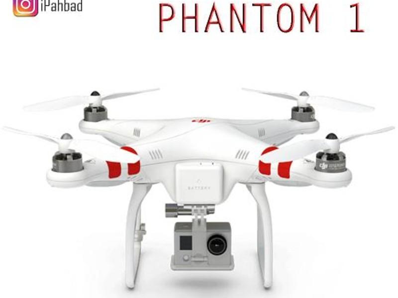 کوادکوپتر حرفه ای فانتوم DJI Phantom1