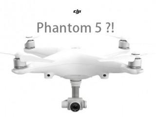 کوادکوپتر فانتوم DJI Phantom 5 چگونه خواهد بود؟