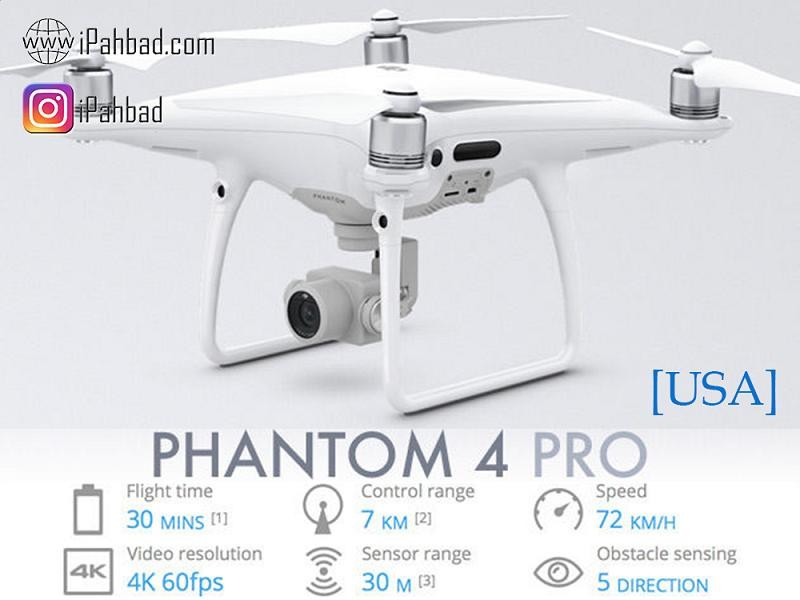 کوادکوپتر فانتوم 4 پرو DJI Phantom 4 Professional-USA