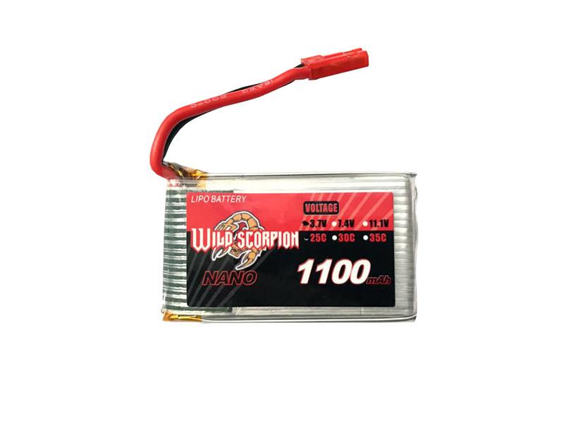 باتری لیتیوم پلیمر با ظرفیت 1100mAh