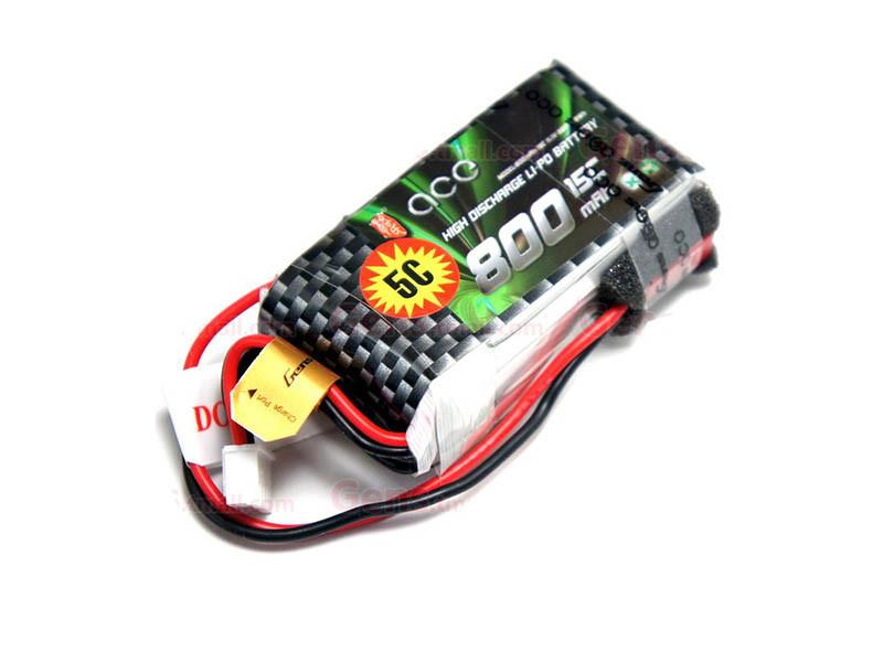 باتری لیتیومی دو سل 800mAh مناسب هواپیمای XK-X520