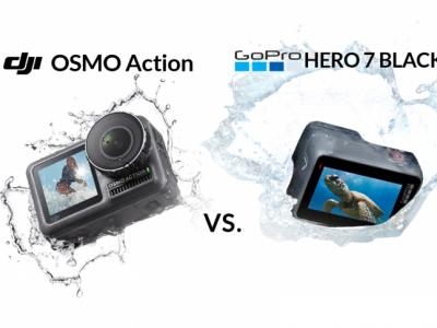Osmo Action یا GoPro Hero 7 ؟