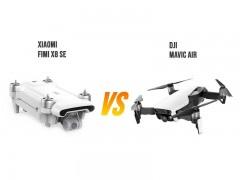 مقايسه دو هلی شات DJI Mavic Air و Xiaomi Fimi X8 se