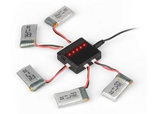 شارژ همزمان باتری کوادکوپتر Syma X5