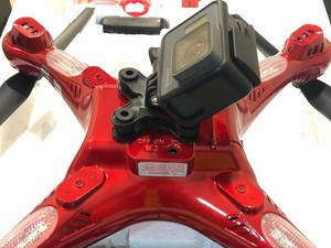 نصب دوربین گوپرو هیرو 5 روی کوادکوپتر سایما