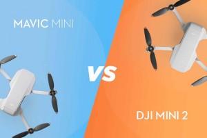 مقایسه DJI MINI 2 و هلیشات مویک مینی