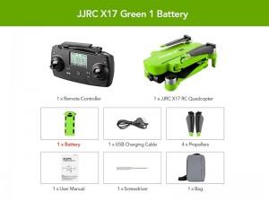 کوادکوپتر JJRC X17 6K