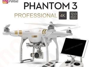 کواد کوپتر حرفه ای فانتوم DJI Phantom 3 Pro
