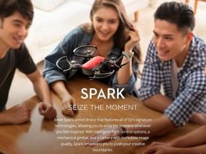 کوادکوپتر دی جی آی اسپارک کمبو DJI Spark Fly More Combo