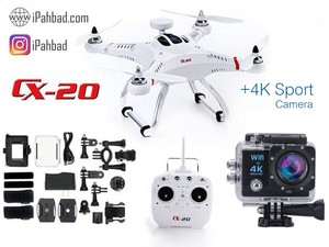 کوادکوپتر حرفه ای چرسون Cheerson CX-20 +دوربین 4K ورزشی
