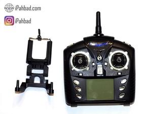 ریموت کنترل کوادکوپتر WLtoys Q323 +هولدر موبایل