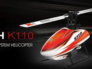 هلیکوپتر کنترلی XK-K110 نسخه BNF