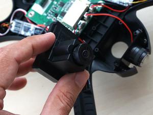 آموزش نصب دوربین MJX C4022 مناسب کوادکوپتر Bugs 3