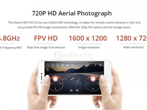 Xiaomi MITU Drone remote Cotrol