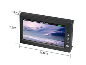 پکیج دوربین C5830 مانیتور D43 و عینک G3 مناسب کوادکوپترهای Bugs 6 و Bugs 8