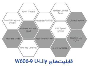 کوادکوپتر  U-Lily W606-9