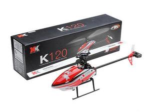 محتویات بسته هلیکوپتر کنترلی XK-K120