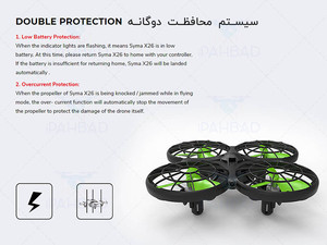 Syma X26 Double Protection
