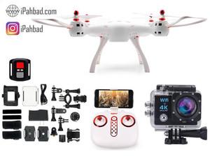 کوادکوپتر Syma X8SW + دوربین 4K