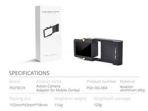 آداپتور نصب دوربین گوپرو برای اوزمو موبایل