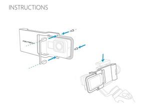 مبدل اوزمو موبایل به دوربین ورزشی