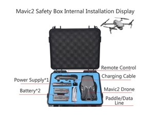 waterproof hardvase for DJI Mavic 2 PRO/Zoom