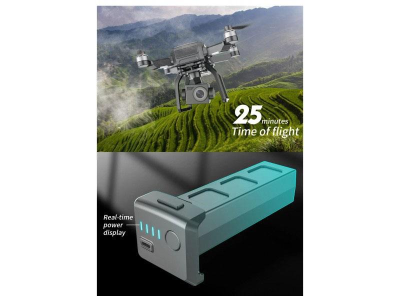 SJRC F7 Battery 25min fligh time