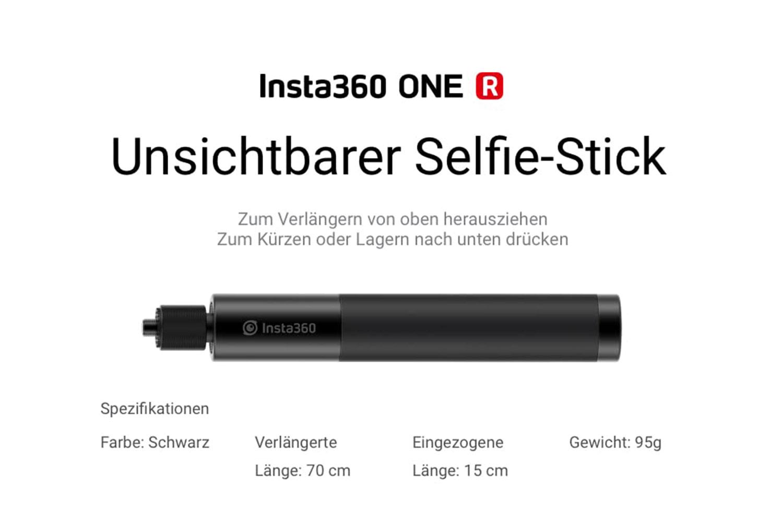 Insta360 ONE R 70 cm Invisible Selfie Stick