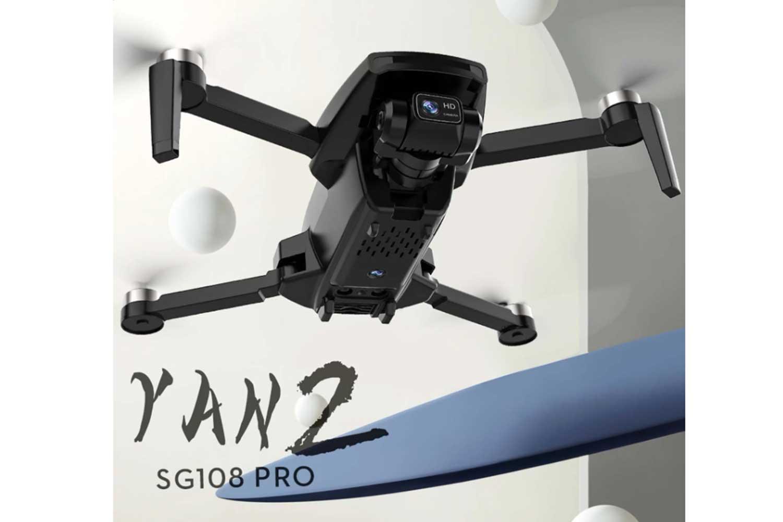 ابعاد کوادکوپتر SG108 PRO